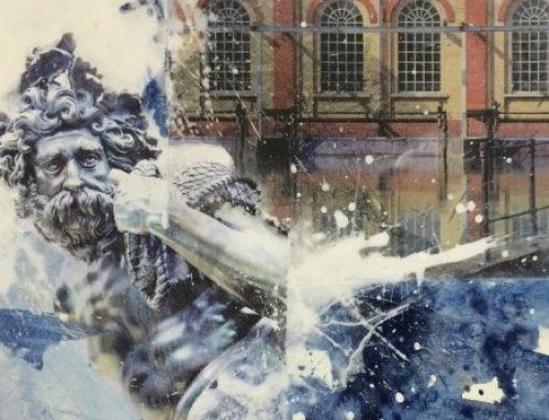 """Offenes Atelier: """"Wassertechnik und Prachtbrunnen in Augsburg"""""""